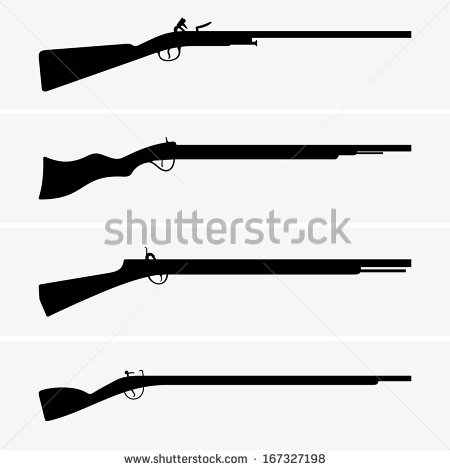 Vintage Rifle Stock Photos, Royalty.