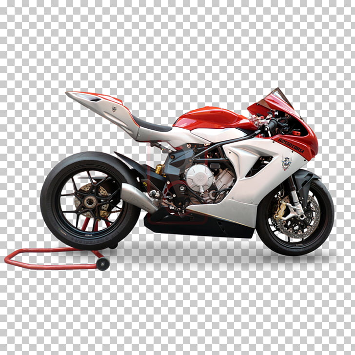 Exhaust system MV Agusta Brutale series Motorcycle MV Agusta.