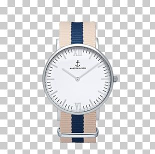 Silver Watch Leather MVMT Classic Ronda PNG, Clipart.