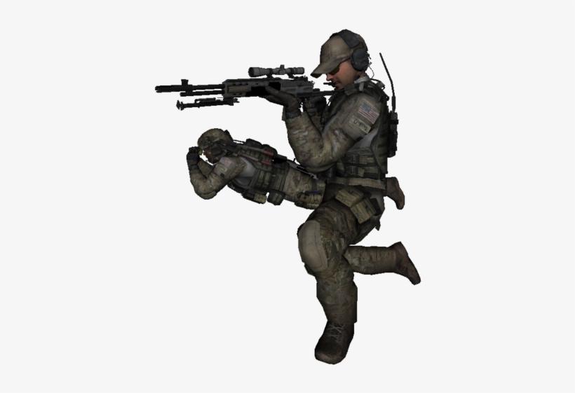Grinch~modern Warfare 3 Fond D'écran With A Rifleman,.