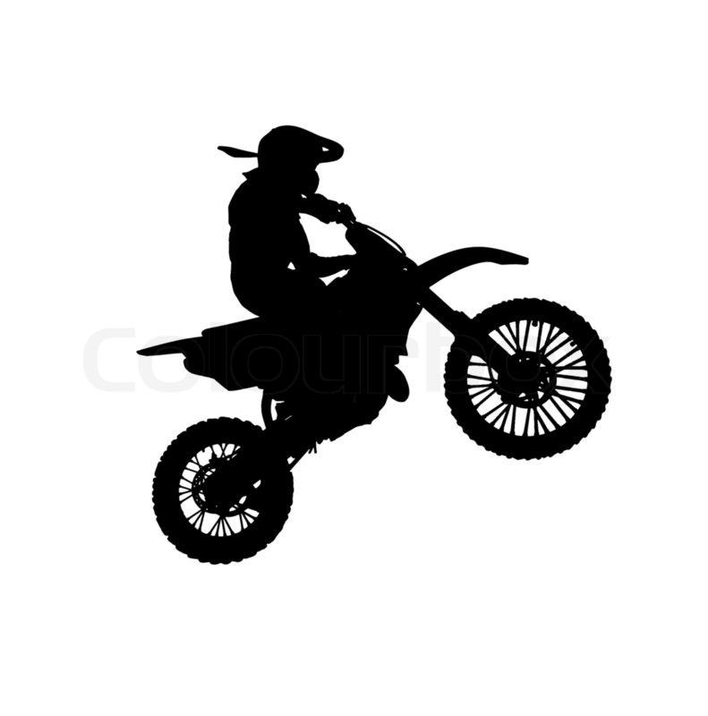 Motocross Jumps Clip Art.