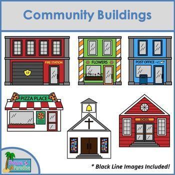 community buildings.