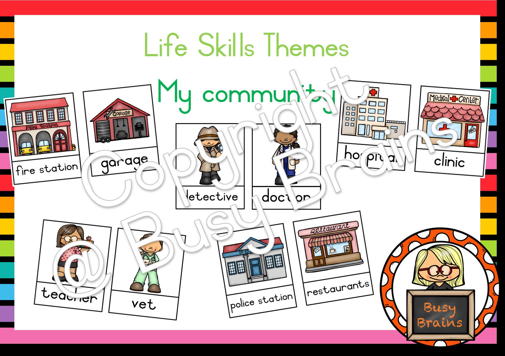 Life Skills Themes.