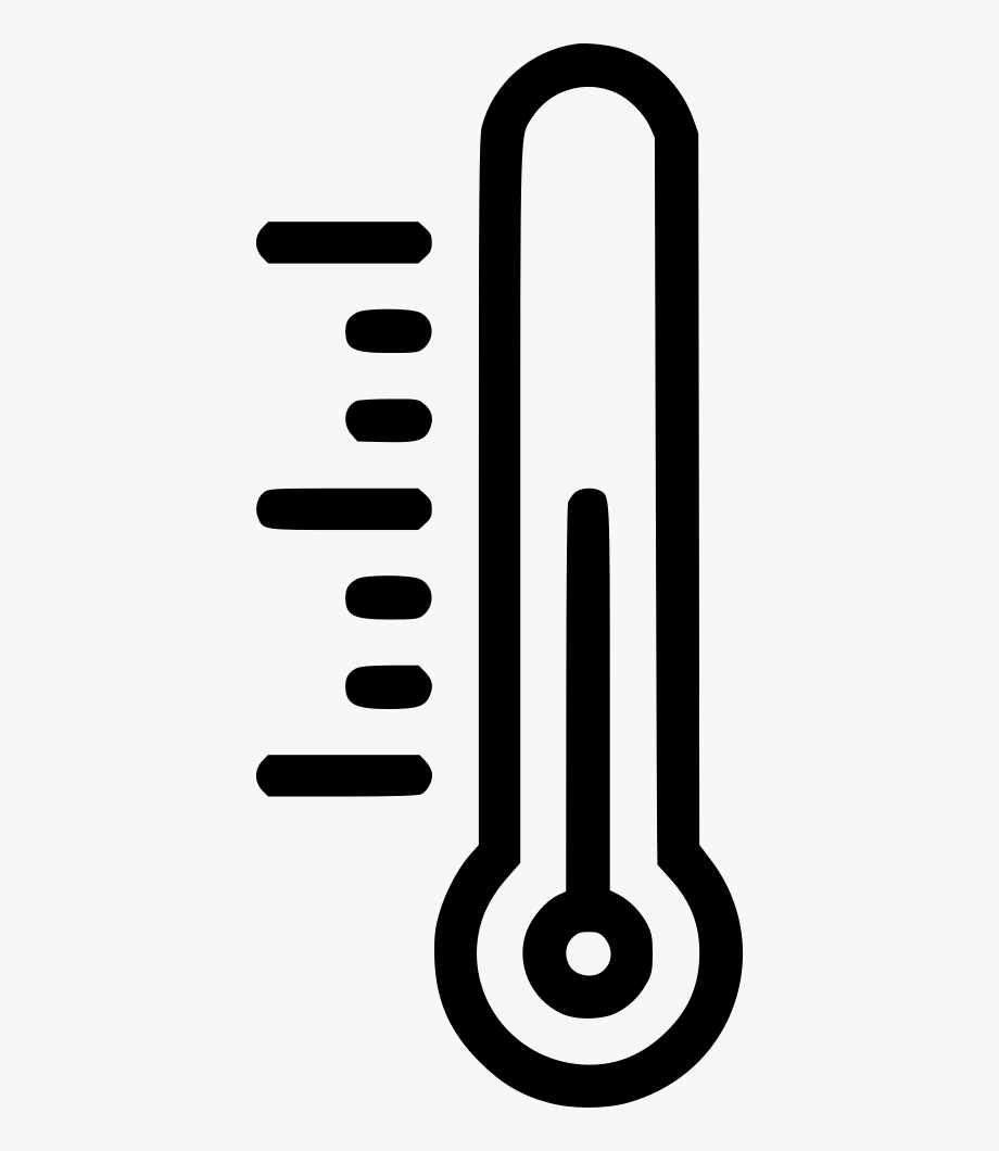 Humidity Clipart Temperature Scale.