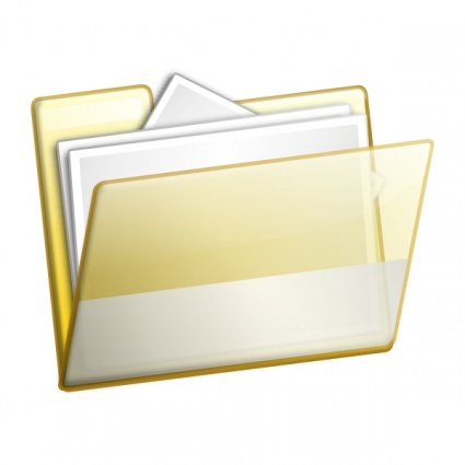 Simple Folder Documents clip art Clipart Graphic.