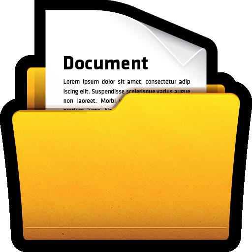Documents, folder, my, office, win icon.