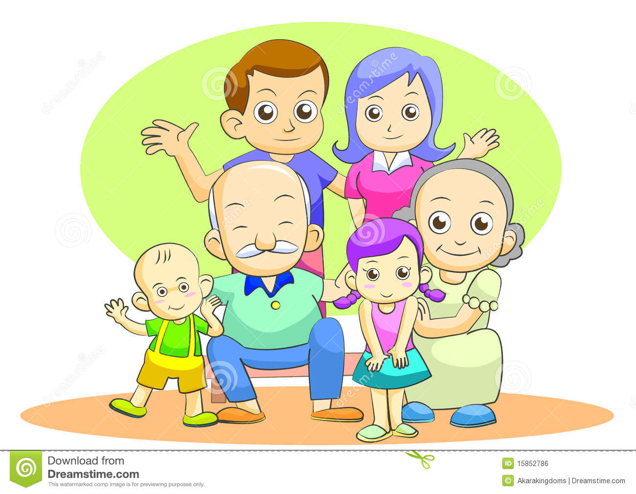 My family clipart 4 » Clipart Station.