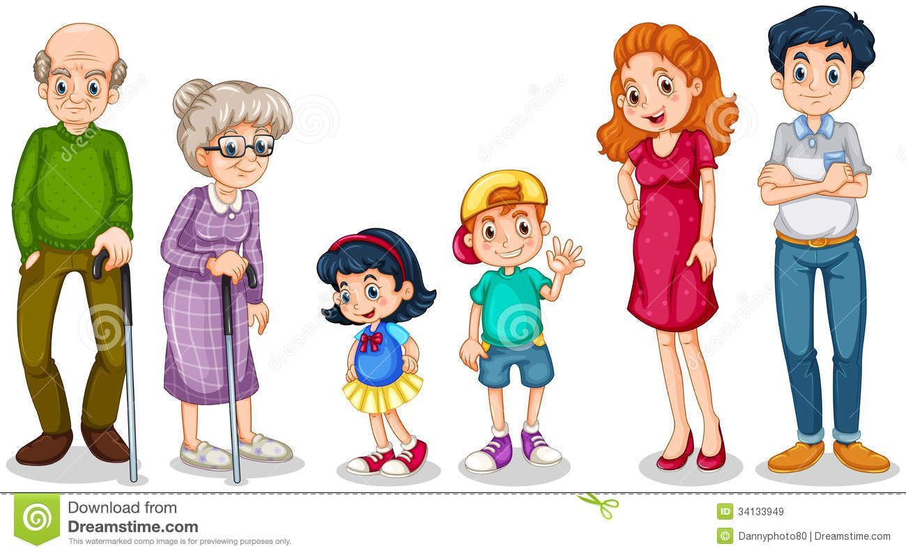 My family members clipart 5 » Clipart Portal.