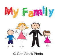 My family Illustrations and Stock Art. 945 My family.