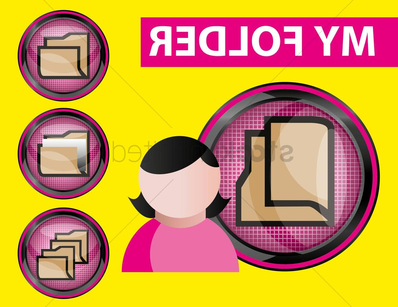Best My Pictures Folder Icon Vector Pictures » Free Vector.