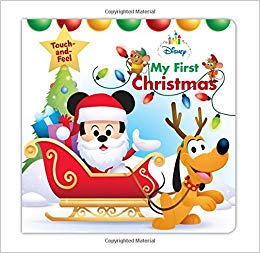 Amazon.com: Disney Baby My First Christmas (Disney Touch and.