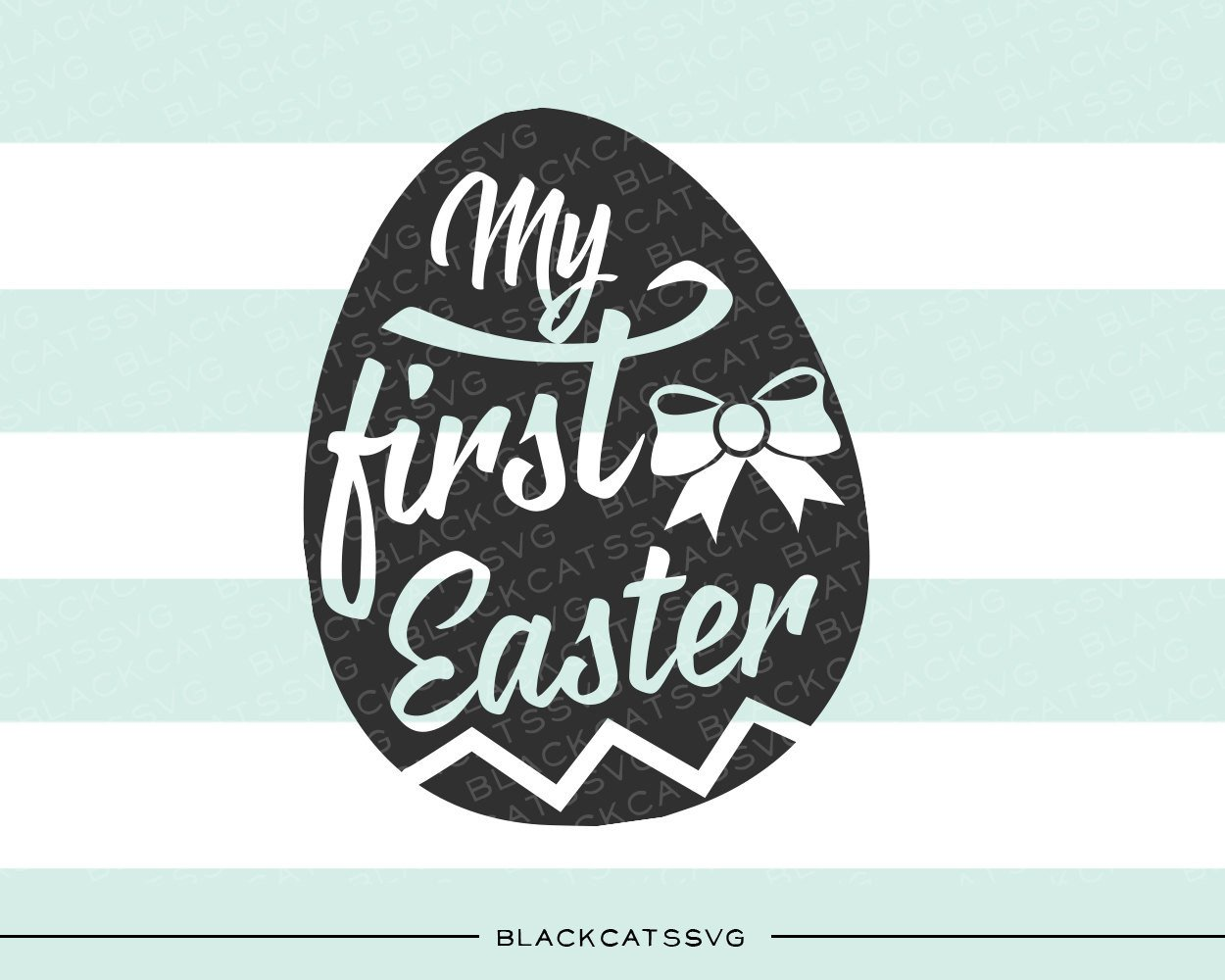 My first Easter SVG file Cutting File Clipart in Svg, Eps, Dxf, Png for  Cricut & Silhouette.