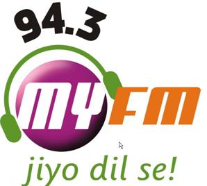 My FM, My FM Ahmedabad 94.3 FM, Ahmadabad, India.