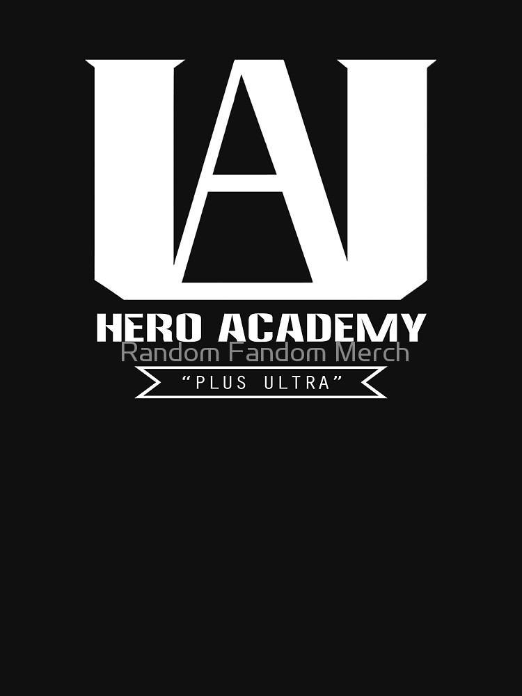 U.A. High Plus Ultra logo.