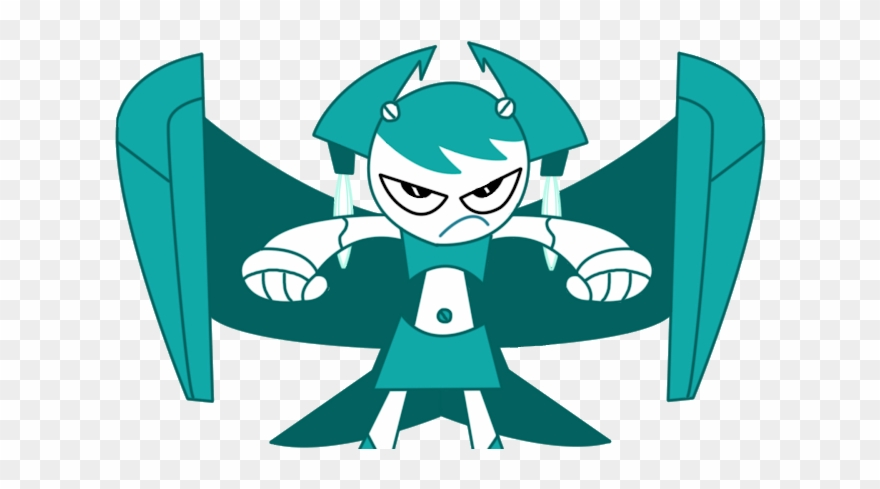My Life As A Teenage Robot Wings Clipart (#1854786).