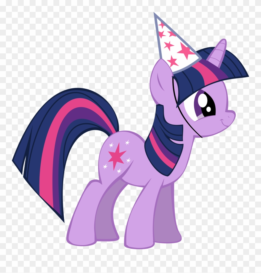 Birthday Clipart My Little Pony.