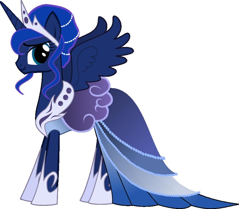 My Little Pony Clipart Princess Luna Clipground