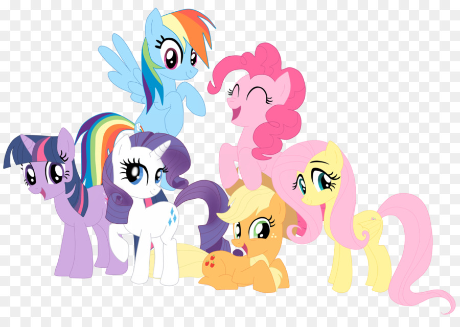 Pinkie Pie Twilight Sparkle Rainbow Dash Pony Applejack.