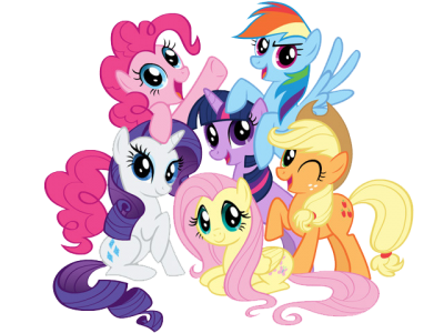 My Little Pony Clipart Colored Photos.