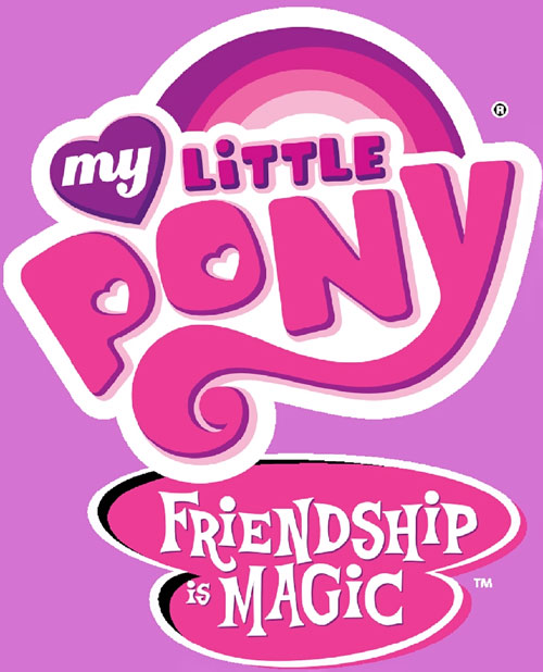 My Little Pony characters and setting.