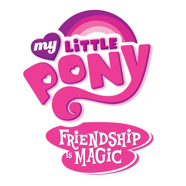 My Little Pony Friendship Is Magic Logo fonts.