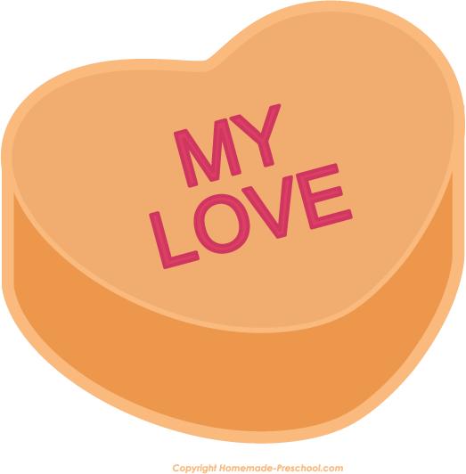 My love clipart heart.