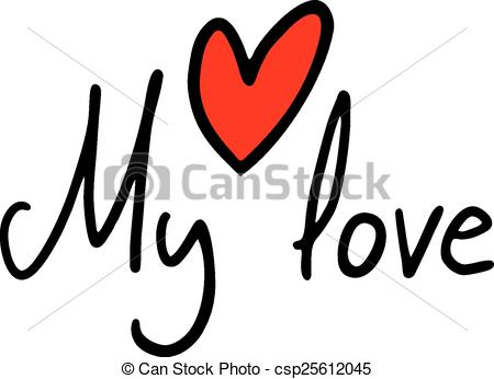To my love clipart.