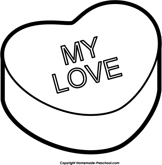 My Love Clipart Heart.
