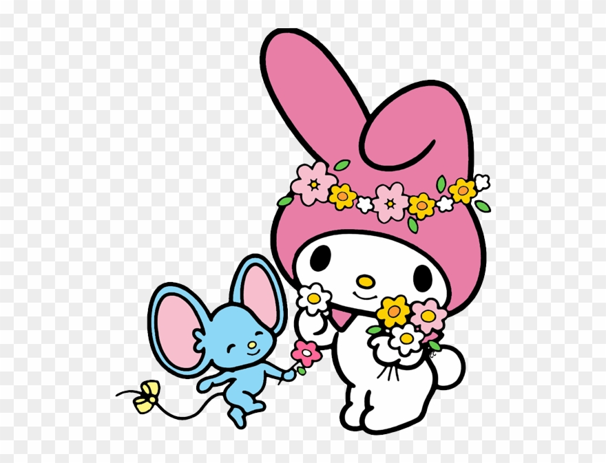 My Melody Clip Art Cartoon.