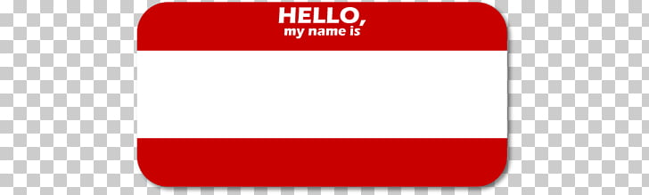 Brand Logo Font, Hello My Name Is PNG clipart.