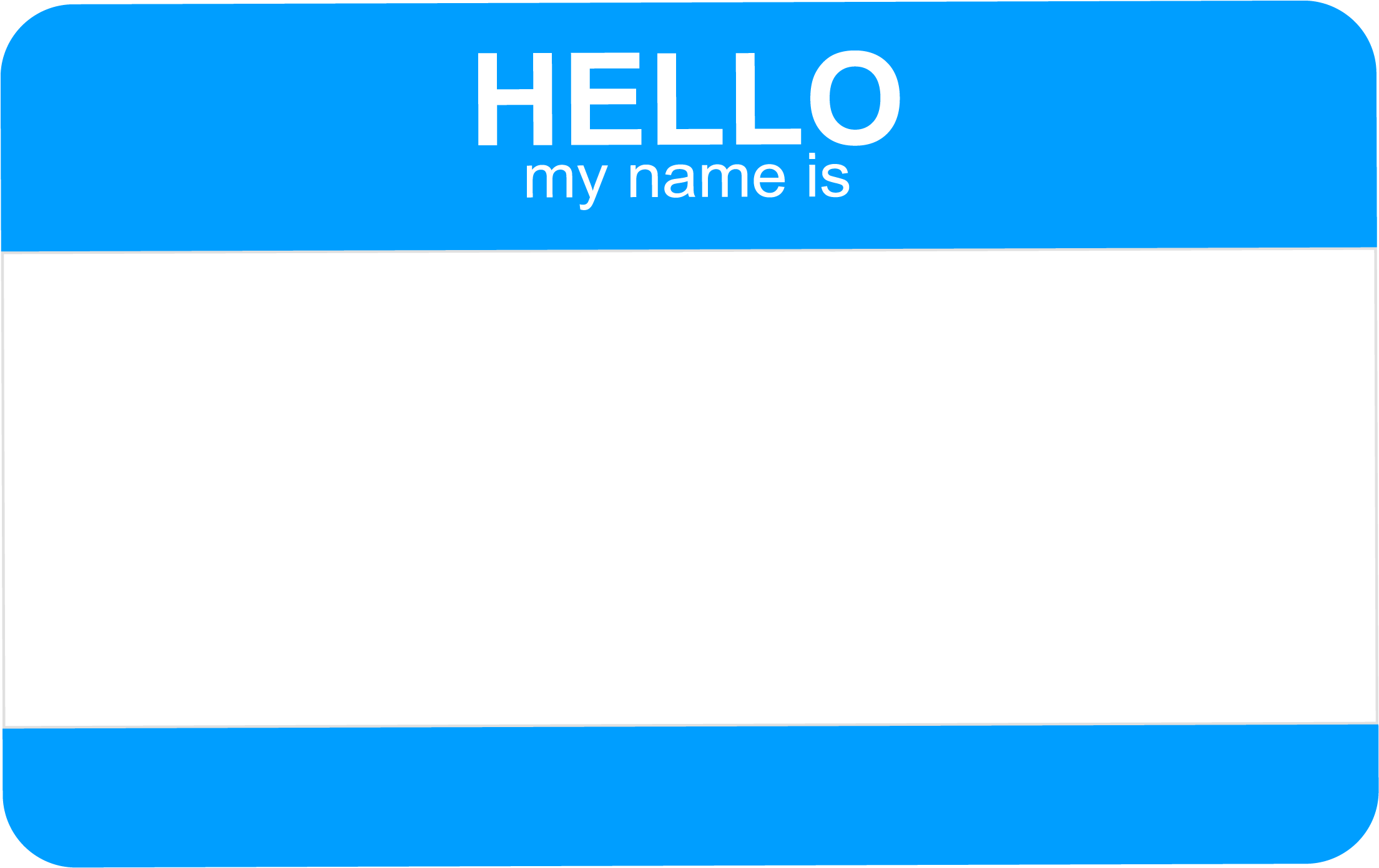 Download Hello My Name Is Tag Png Banner Transparent.