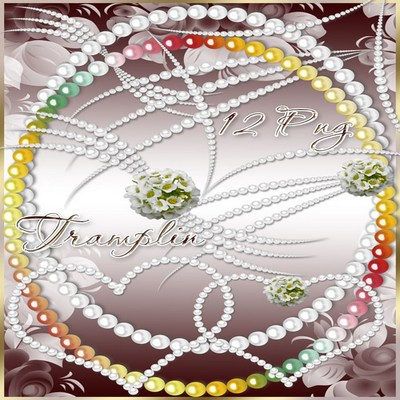 Free pearl jewelry Png images.