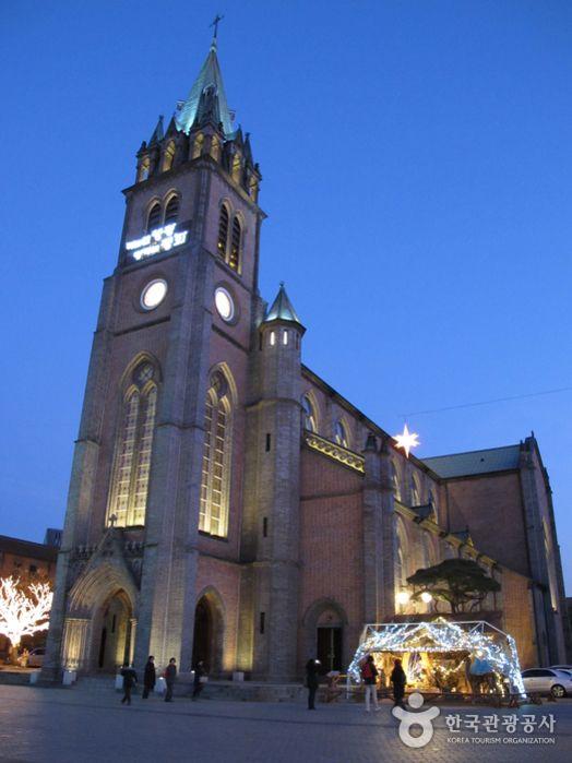 myeongdong cathedral.