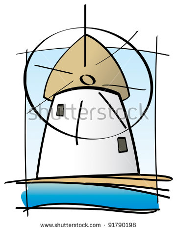 Mykonos Windmills Stock Vectors & Vector Clip Art.