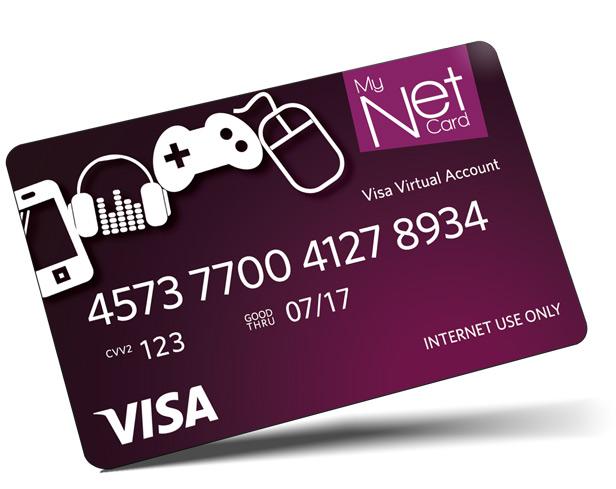 MyNet Prepaid Card.