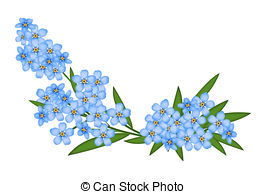 Forget me not Illustrations and Clip Art. 908 Forget me not.