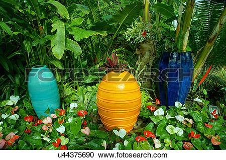 Stock Photography of route 66 plants pottery myriad botanical.