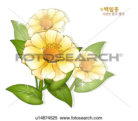 Stock Illustration of flowers, nature, plants, crape.