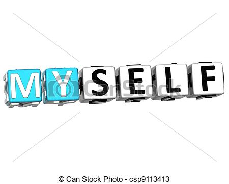 Myself Clip Art and Stock Illustrations. 552 Myself EPS.
