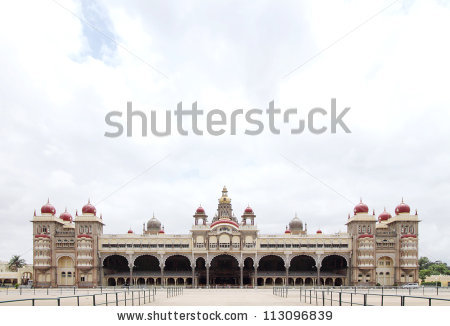 Mysore Palace Stock Images, Royalty.