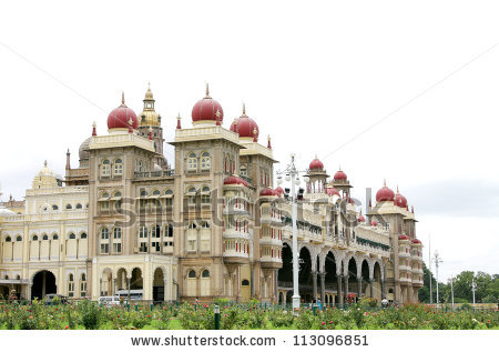 Mysore Palace Stock Photos, Royalty.