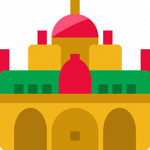\'India landmark and culture flat design\' by Mangsaabguru ..