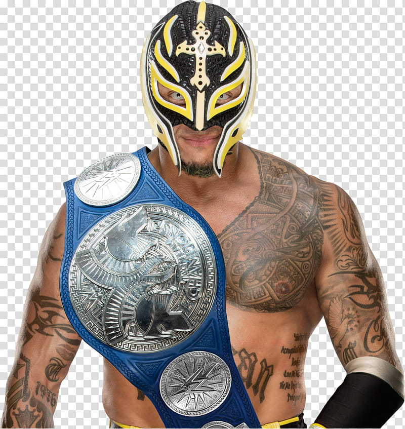 Rey Mysterio transparent background PNG clipart.