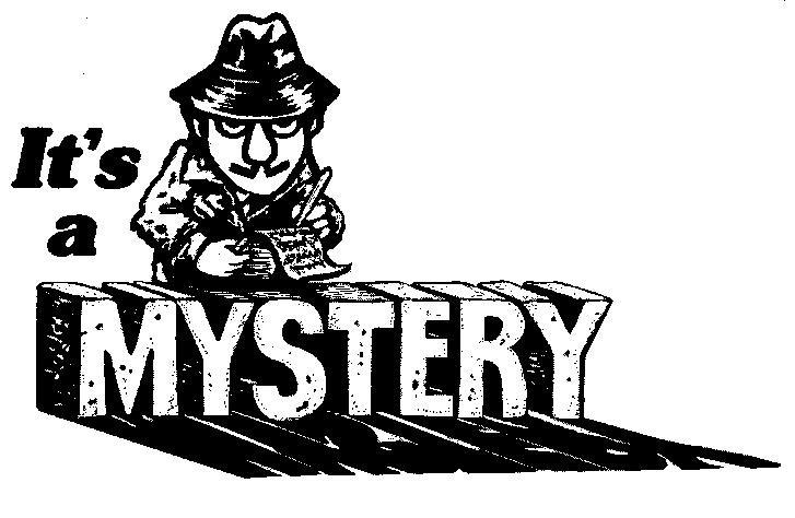 Mystery Reader Clipart.