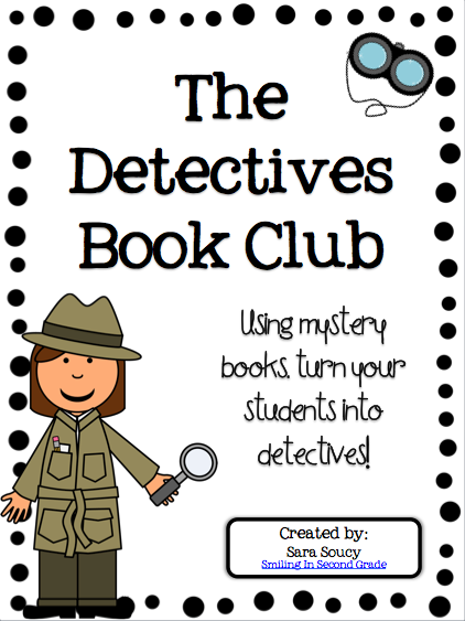 Mystery book clip art.