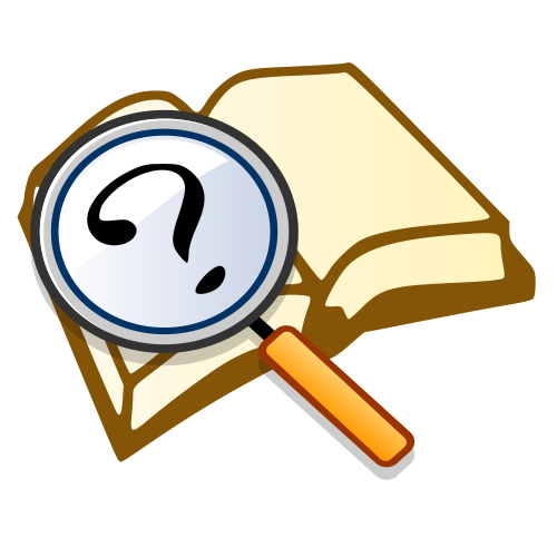 Evidence clipart mystery book, Evidence mystery book.