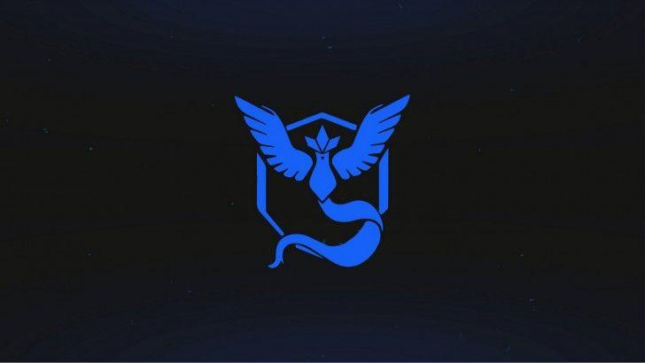 Download Pokemon Go Team Mystic Logo Wallpaper.