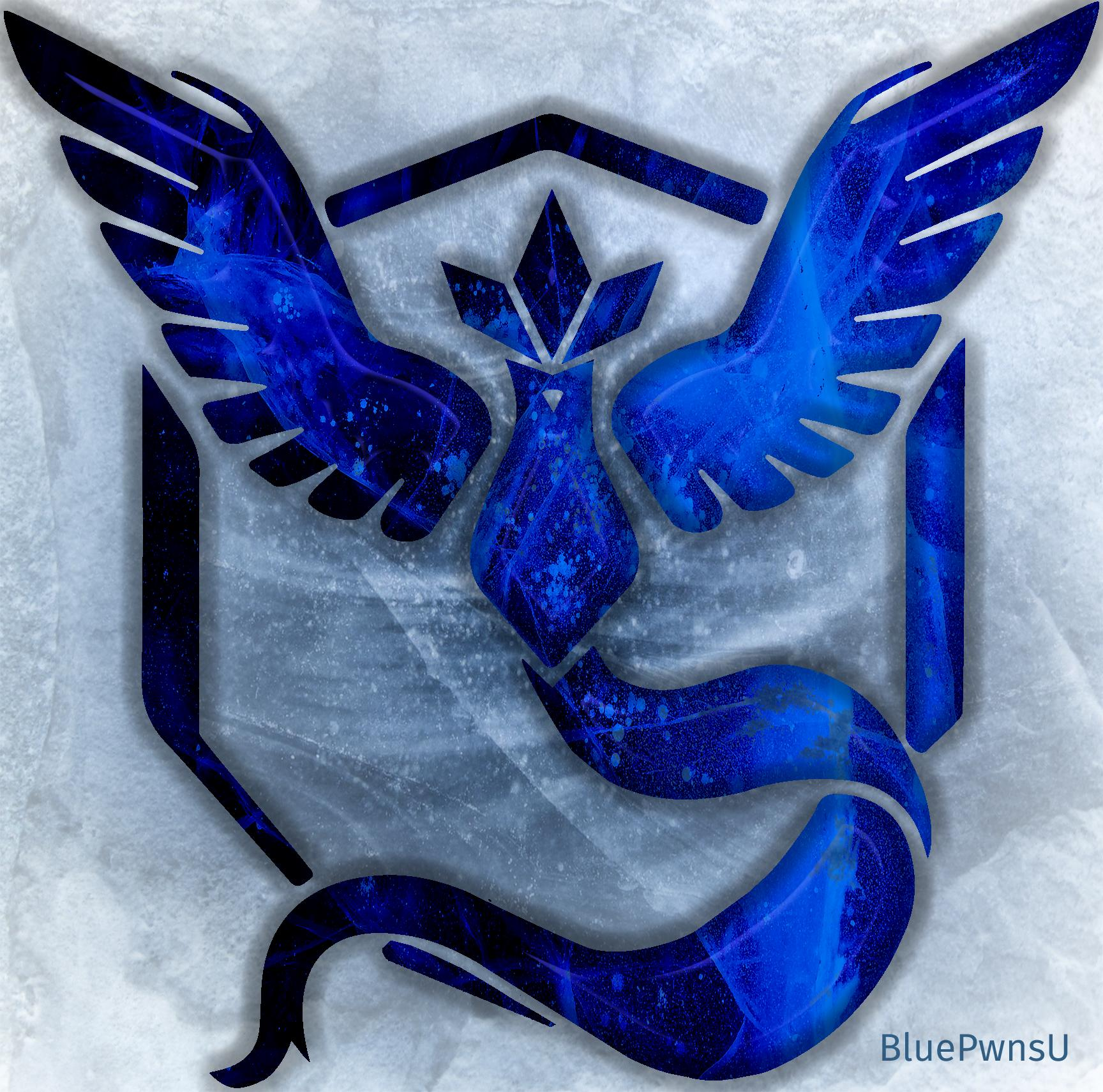 Team Mystic Logo by BluePwnsU.