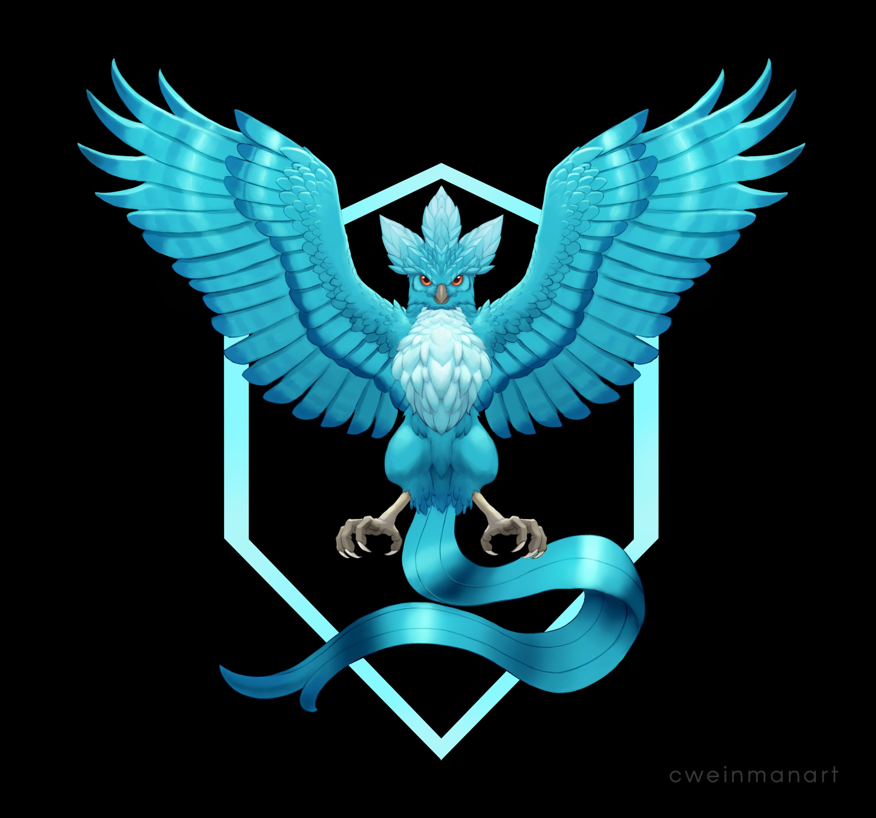 Pokemon GO Realistic Team Logos.