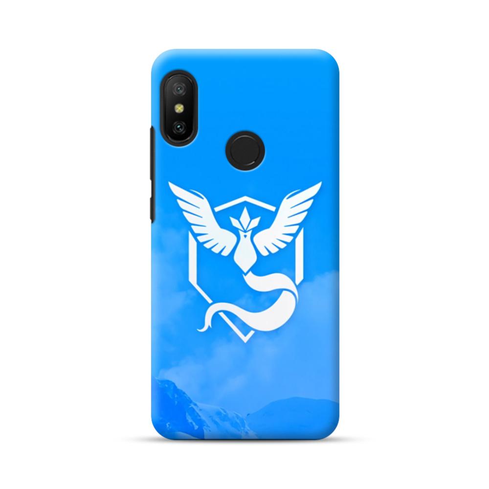 Pokemon Go Logo Team Mystic Blue Xiaomi Mi A2 Lite Case.